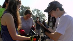 RCDS students and faculty participate in International Coastal Cleanup Day