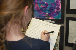 Lower School Art Reception [Photo Gallery]