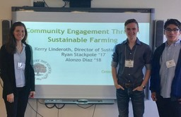 Students Present at NYSAIS Sustainability through Student Voices Conference