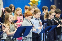 Students in Grades 2-4 Perform