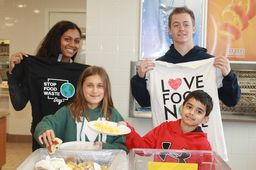 RCDS Participates in Global Stop Food Waste Day