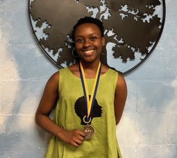 Recognizing Excellence: Kioni Shropshire-Maina '19 awarded gold medal in NAACP ACT-SO Competition