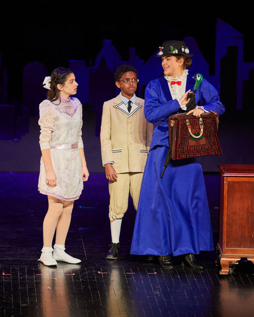 Middle School Brings Mary Poppins to the Newly-Renovated PAC