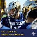 Will Dodge '18 Voted U.S. Lacrosse All-American