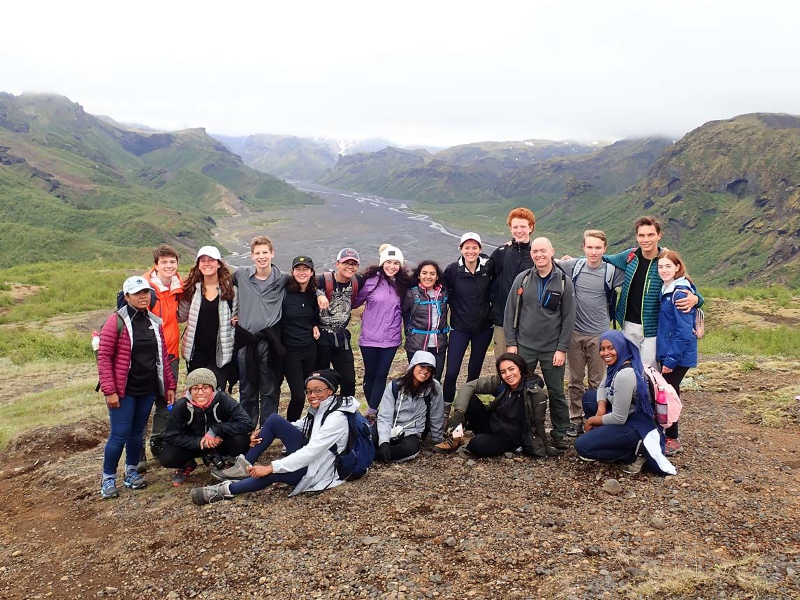 RCDS Students Explore Sustainability and Renewable Energy in Iceland