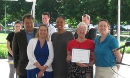 RCDS Receives Westchester County Eco Award