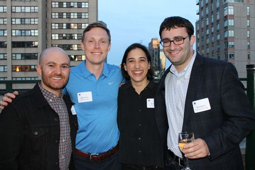 Alumni Kick-Off Summer with NYC Reception