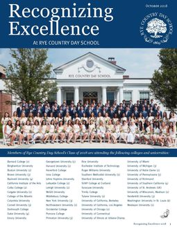 Excellence Newsletter - 2018