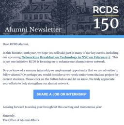 Alumni Newsletter - February 2019