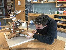 Students Learn New Ways to Fabricate 3D Art in the Cohen Center