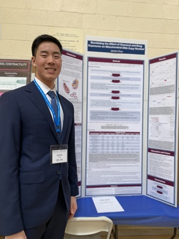 Senior James Chen Wins Second Place at Science & Engineering Fair
