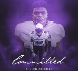 Cullen Coleman '20 Commits to Northwestern University
