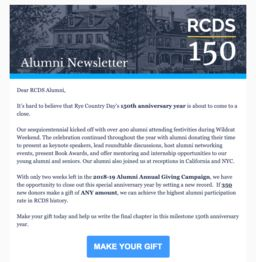 Alumni Newsletter - June 2019