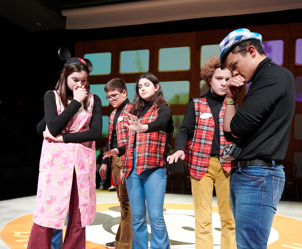 Upper School Fall Play: The Untold Yippie Project [Photo Gallery]
