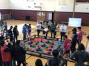 "Upper School Robotics Team Competes in VEX ""Tower Takeover"" Tournament"