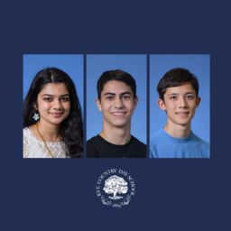 Three RCDS Seniors Named Presidential Scholar Candidates