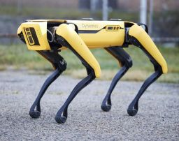 Boston Dynamics, led by Chief Scientist Al Rizzi '82, Deploys Spot the Robot Dog to Support Efforts to Contain COVID-19